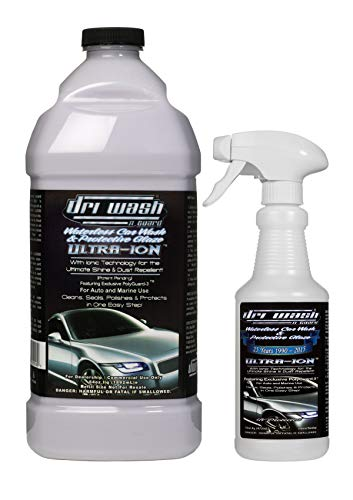 Dri Wash 'n Guard Ultra-Ion 64oz Waterless Car Wash
