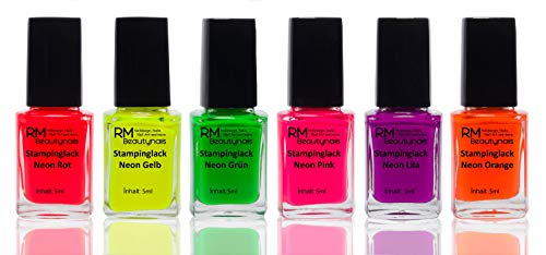 RM Beautynails -  Stampinglack Neon