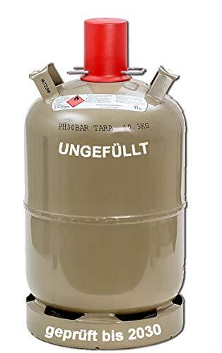 11 kg Camping Gas-Flasche ungefüllt Neu Propangas Grill Gaskocher