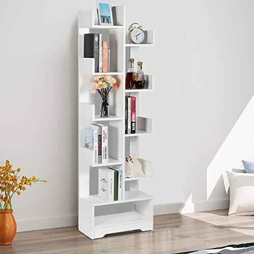 Freistehendes Bücherregal, mehrschichtiges Bücherregal Regale für Ausstellungsregale...