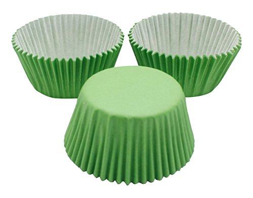 DeColorDulce sg1214 Muffin, Papier, Vert, 10 x 10 x 5 cm, Lot de 50