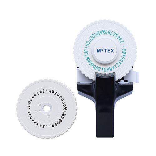 MoTEX Embossing Label Maker, Label Writer -E-101 (Black Set)