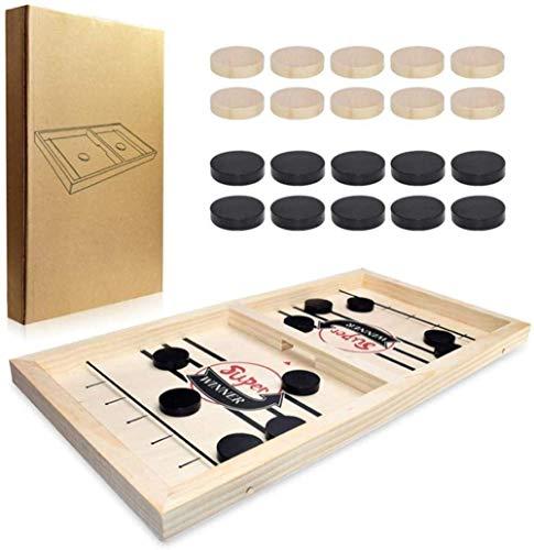 YLJYJ Hockey Tisch Fußball Tischfußball Billard Tisch Tischtennis Tisch Tischplatte Air Hockey Spiel Kinder/Erwachsene/Familie Tisch Eishockey Vs.Anzeige (Tischspiele)