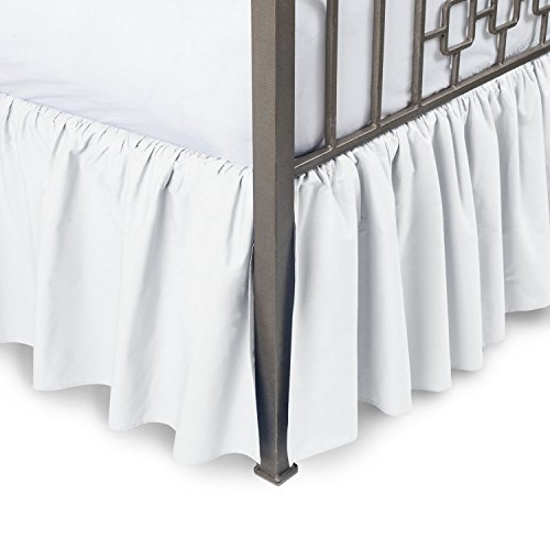 Great Price! Comfort Beddings 800TC Hotel Quality Pure Cotton Dust Ruffle Bed Skirt 22 Drop Length ...