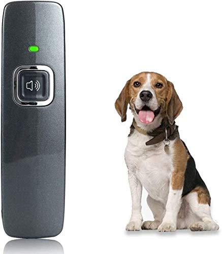 KCPPET Anti Barking Device, Ultrasonic Dog Bark Deterrent, Ultrasonic Dog Barking Control Devices, 2 in 1 Dog House Training Aids Handheld Ultrasonic Anti Bark Dog Train Repeller Stop Barking