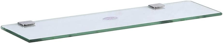 LCUY Bathroom Shelf Modern Ranking TOP18 Indefinitely Wall Glass Mounte 50CM