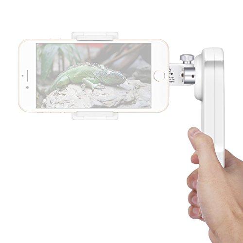 Neewer NW-2AG200 Stabilisateur de Cardan Portable à 2 Axes Pliable pour iPhone 7 Plus 7 6s 6s Plus Samsung S5 S6 Edge Plus YotaPhone Xiaomi Huawei Smartphone Moins de 5,5 Pouces