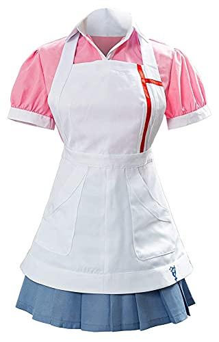 LPQSY Cosplay vêtements Femmes mikan tsumiki Cosplay Costume Halloween modèle Carnaval Cosplay Costume Japonais lycée Uniforme (Couleur : Version 4 (Female), Size : S)