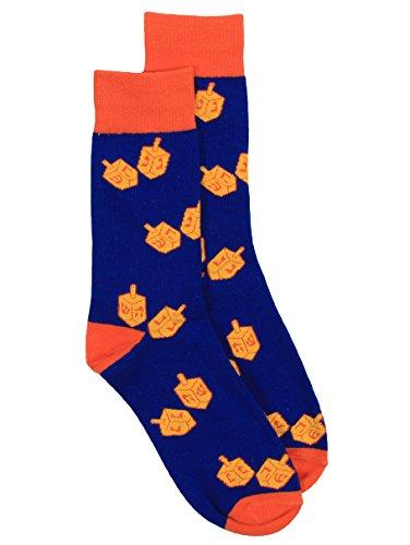 Men's Dreidel Hanukkah Socks