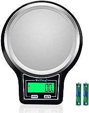 Diyife Waga Kuchenna 5kg/0,1g , [Ulepszony] Elektroniczna Skala Zywności z Wyświetlaczem LCD, Funkcja Tarowania, Automatyczne Wyłączanie, do Żywności, Pieczenia, Gotowania - Bateria w Zestawie