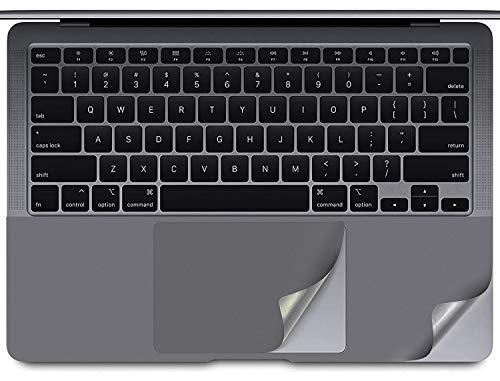 Handballenauflage, kompatibel mit MacBook Pro 13 Zoll A2338 A2251 A2289, mit Trackpad-Schutzfolie für MacBook Pro 13 A2338 (M1) A2289 A2251 mit Touch Bar Touch ID, Grau