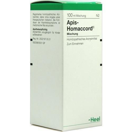 APIS HOMACCORD 100ml Tropfen PZN:59536