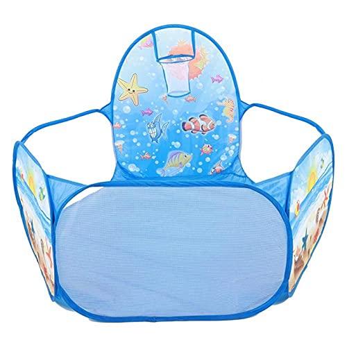 Tienda de Juegos de Tela, para Cultivar la Capacidad de comunicación Social de los niños, Soporte para niños(Piscina de Bolas submarinas)