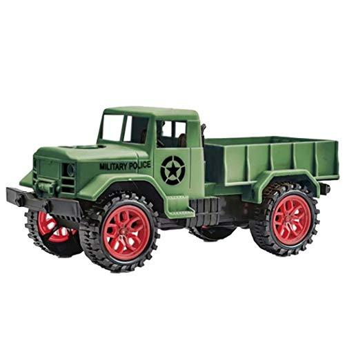 Kisshes Toy Hobby RC camión Control Remoto Coche 2 Canales 2.4G RC Escalada Coche Militar camión vehículo de Cuatro Ruedas Coche Juguete Control Remoto Coche