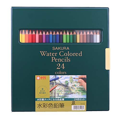 24 colors SKEPY24 Sakura Color watercolor pencil (japan import)
