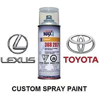 Finish-Rite Custom Spray Paint for Toyota and Lexus Cars - OEM Paints (Spray Paint, 209 - Black Sand MICA/Black SA)