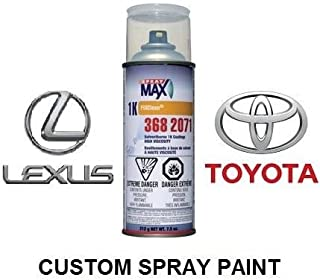 Finish-Rite Custom Spray Paint For Toyota and Lexus Cars - OEM Paints (SPRAY PAINT, 6T7 - CYPRESS GREEN METALLIC/P)