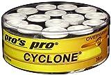 Pros Pro Cyclone - Bandas adhesivas para tenis, 30 unidades, color blanco