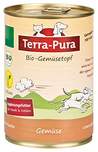 Terra Pura Bio-Hundenassfutter Gemüsetopf, 12er Pack (12 x 380 g)