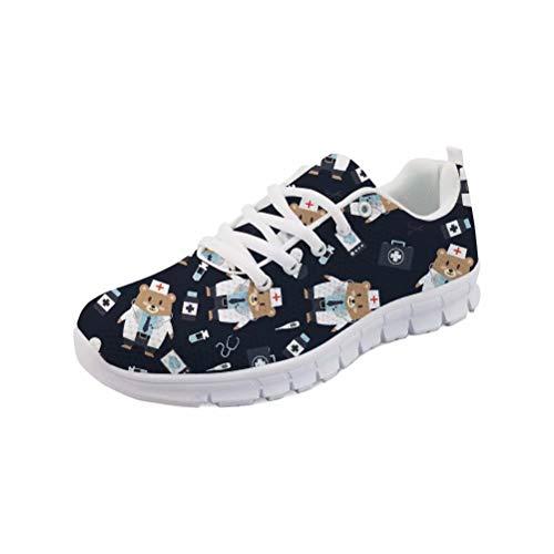 MODEGA Zapatos Deportivos Hombres Zapatos de Bolos de Alquiler de los Zapatos de Bolos 3G Corriendo Zapatos para Hombre Tamaño 41 EU