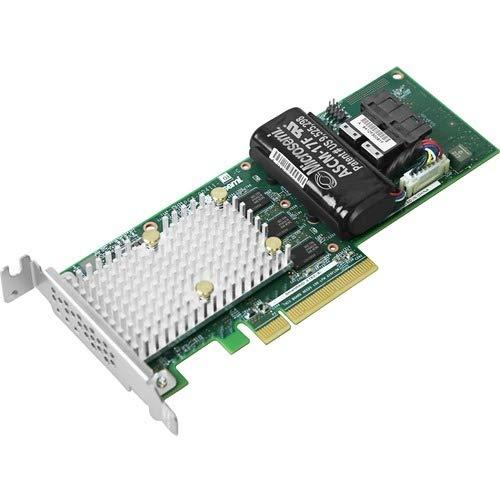 Microsemi SmartRAID 3162-8i /e - RAID-Controller (SAS,Serial ATA III, PCI Express x8, 0, 1, 1 ADM, 5, 6, 10, 50, 60, 2048 MB, DDR4, 2100 MHz)
