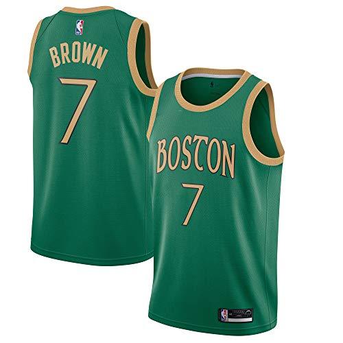 Outerstuff Jaylen Brown Boston Celtics #7 Green Youth 8-20 City Edition Swingman Jersey (8)