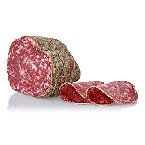 Salami Muletta, gereift, handgebunden, eine Besonderheit, Italienisches Schweinefleisch, am Stück, 1.2 kg