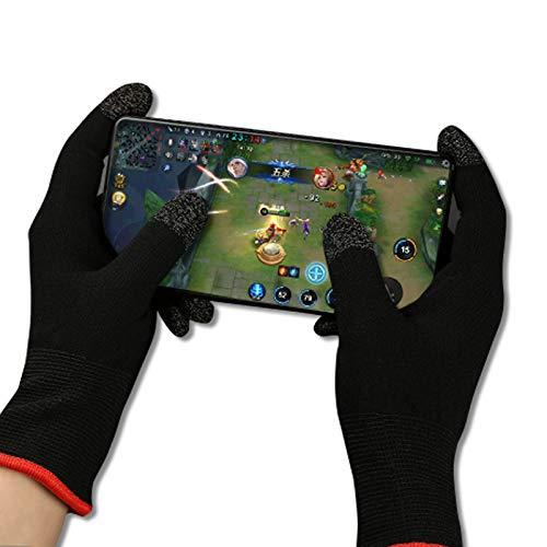 2 x Gaming-Handschuhe für Controller, Smartphone und Tablet/besserer Grip und Touchscreen geeignet