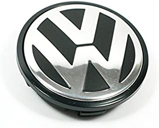 AntennaMastsRus 65MM Hubcap Wheel Center Cap - Part Number 3B7-601-171 (1 Piece) is Compatible with Volkswagen Caddy,EOS,Golf,Jetta,Passat CC,Phaeton,Scirocco,Sharan,Tiguan,Touran,Transporter