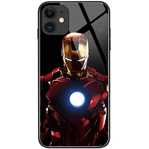 Ironman Marvel Avengers - Custodia per iPhone 12 / iPhone 12 Pro, motivo: Incoming Call Flash
