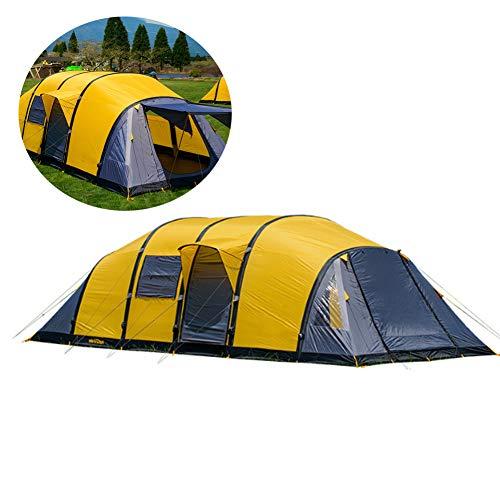 Lichtgewicht Unisex Outdoor Dome Tent - 3-4 Person Grote Tent Een Slaapkamer En Een Woonkamer Opblaasbare Tent Outdoor Tent