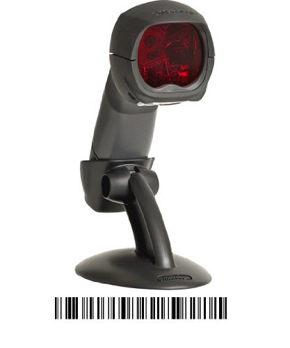 Honeywell MK3780-61A38 MS3780 Fusion Hand-Held Omnidirectional Laser Scanner LS USB Keyboard Stand Cable and No Power Supply - Color Dark Grey