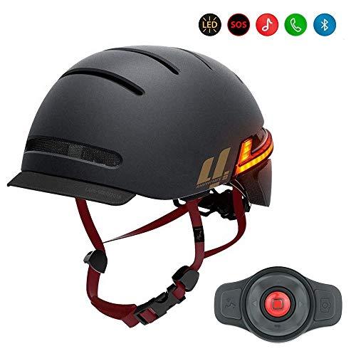 Livall BH51M Neo Matt Black Größe 54 – 58 cm Bluetooth-Headset für Erwachsene, Unisex, Schwarz