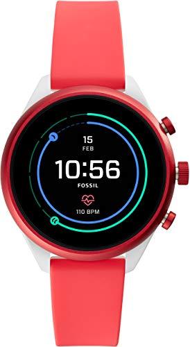 [フォッシル] 腕時計 FOSSIL スポーツスマートウォッチ FTW6027 レディース 正規輸入品 レッド