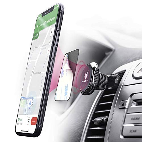 MOBILEFOX 360° Magnet Handy Halterung Auto Lüftungs Halter für S20 S20+ Ultra S10 S9 S8 S7 S6 S5 Edge Plus Mini Note 8 9 J7 J5 J3 J1 A9 A8 A7 A5 A3 A10 A20 A50 A70 A80 M20