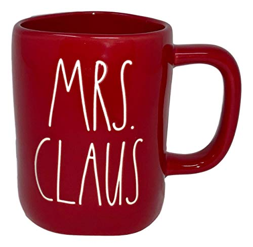 RAE DUNN ARTISAN COLLECTION BY MAGENTA MRS. CLAUS MUG