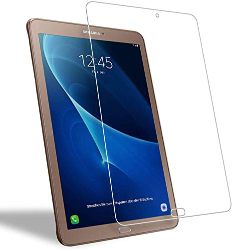 WEOFUN [2 Pezzi] Vetro Temperato Samsung Galaxy Tab E 9.6 T560 T561, Pellicola Protettiva per Samsung Galaxy Tab E 9.6 Tablet SM-T560 T561 Proteggi Schermo [0,33mm, 9H, Alta Trasparente]