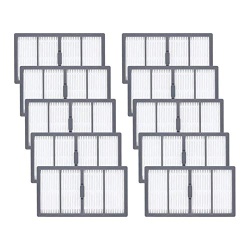 ZRNG 10 Pack Replacement Hepa Filters Fit For IRobot Roomba S Series: S9(9150), S9+/Plus(9550) Vacuum Cleaner Part Accessories
