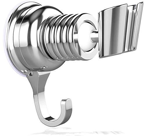 Duschhalterung Duschkopfhalterung Verstellbare, Brausehalter Handbrause Duschbrause Halterung Duschkopf Halter Duschhalterung, Saugnapf für Dusche Universelle