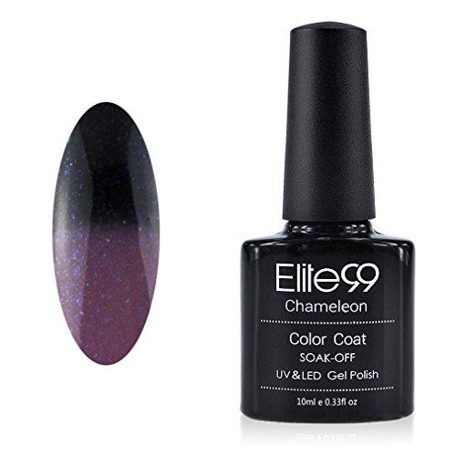 Elite99 Vernis A ongles Température/Soleil Change Caméléon Thermique UV Gel Nail Polish 9047