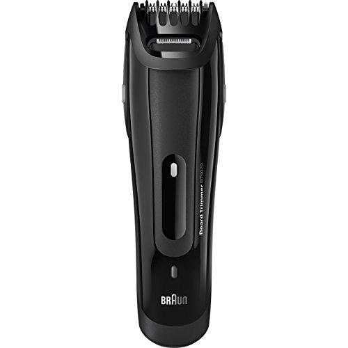 Braun Regolabarba Uomo BT5070 Rasoio Elettrico Uomo, Tagliacapelli, Barba Ottima Grazie agli Intervalli di Lunghezza da 0.5 mm