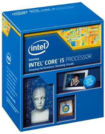 Intel Core i5-4570S Quad-Core Desktop Processor 2.9 GHZ 6MB Cache- BX80646I54570S