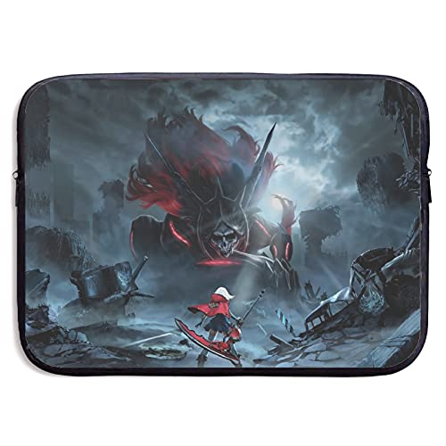 Anime God Eater Artwork Protect the Laptop Bag Waterproof and Lightweight Diving Fabric (Neoprene) Feels Delicate Simple and Lightweight15 inch