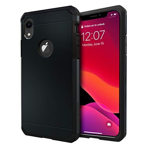 IMPACTSTRONG iPhone XR Case, Heavy Duty Dual Layer Protection Cover Heavy Duty Case for iPhone XR 2018 6.1 inch (Gun Black)