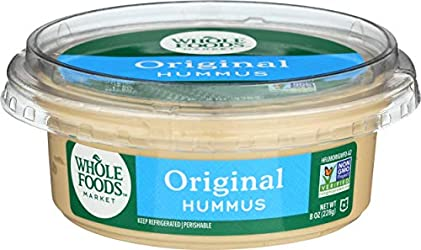 Whole Foods Market, Hummus Original, 8 Ounce