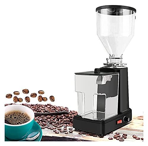 Elektryczna szlifowanie kawy Młynek fasola w pełni automatyczny profesjonalny szlifierka w pełni automatyczna ekspres do kawy Espresso Coffee Mlask Espresso Coffee Mlask Kolor:(czarny)Rozmiar:(5.11*9.