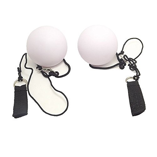New1 Pair LED POI Thrown Balls for Professional Belly Dance Level Hand