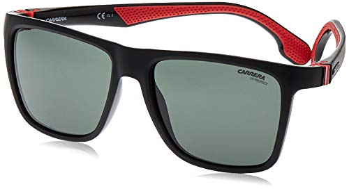 Carrera eyewear 5047/S Occhiali da sole, BLACK, 56 Unisex Adulto