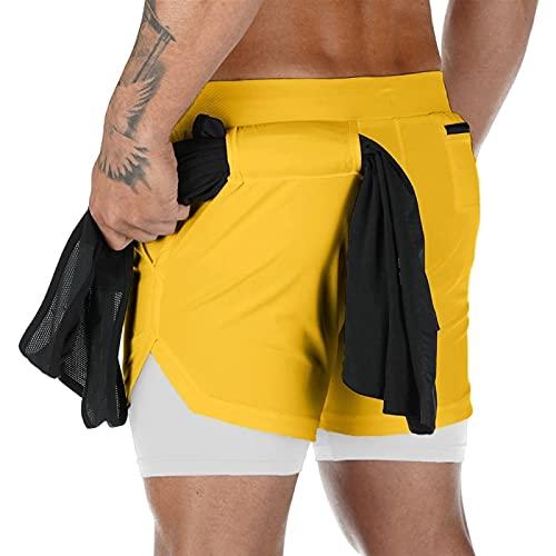 A-YSJ Pantalones Cortos Hombre CORTEMENTE CORTEMENTES Hombres CHOREBUILDING Fast SECY Sparty Shorts Porte Joggers LONGITORIO DE Longitud DE Perro (Color : B8, Size : XL (180cm 70kg))