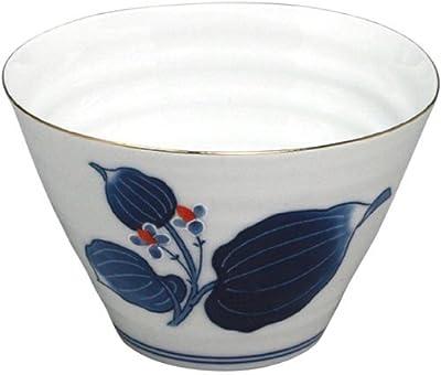 ランチャン(Ranchant) 2個セット マルチカップ(青) マルチ 1802-721451/Φ11.5x7.4cm 錦藍葉紋 有田焼 日本製